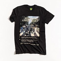 BAND TEES The Beatles Unisex Tee Abbey Road 8 Track – S