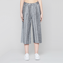 NATIVE YOUTH Šedé culottes nohavice – Causatum – XS