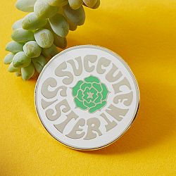 PUNKY PINS Odznak Succulent Sister